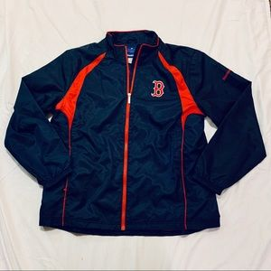 Reebok Boston Red Sox Windbreaker Jacket L